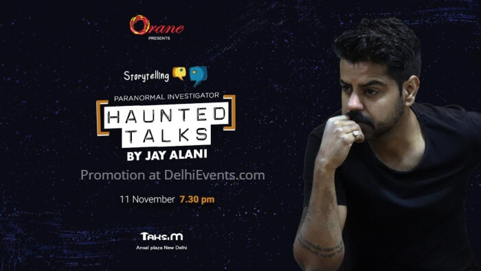 Orane Haunted Talks Jay Alani Paranormal Investigator Creative
