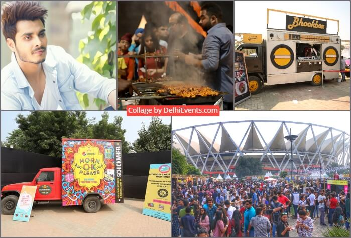 Horn Ok Please Food Truck Festival Jawaharlal Nehru Stadium Photoshoot