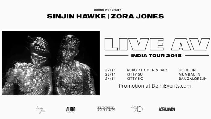 Krunk pres Sinjin Hawke Zora Jones EZ Riser Anushka Auro Kitchen Bar Creative