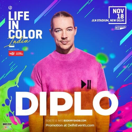 Life Color India Diplo artists JLN Stadium Creative