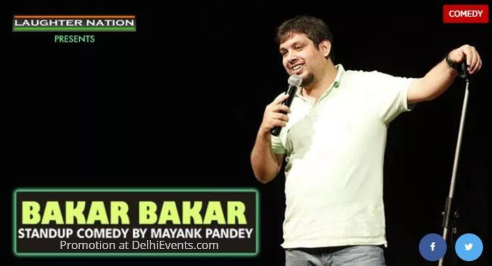 Laughter Nation Bakar Hinglish Standup Mayank Pandey Creative