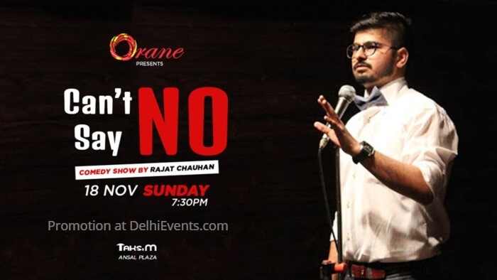 Orane Cant Say No Hinglish standup Rajat Chauhan Creative