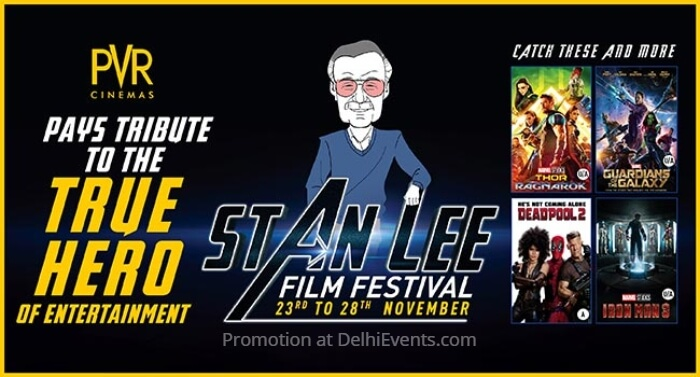Stan Lee Film Festival PVR Cinemas Creative