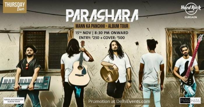 Mann Ka Panchhi Album Tour Parashara Hard Rock Cafe Band Creative