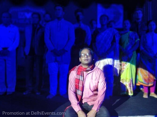 Saksham Theatre Ek Mamooli Aadmi Hindustani Play Still