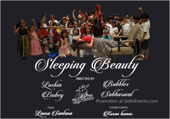 Kids World Sleeping Beauty English Play Creative