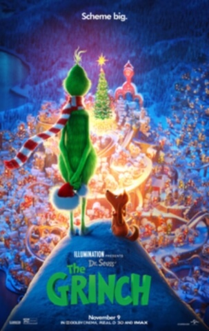 Grinch Animation Comedy Movie Poster
