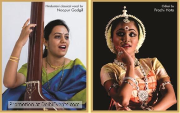 Vocalist Noopur Gadgil Odissi Dancer Prachi Hota
