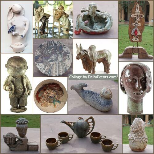 show sculptures Indian International artists Art Ichol Artworks