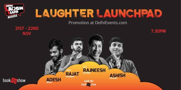 Laughter Launchpad Hinglish Standup Rajat Chauhan Canvas Laugh Club Creative