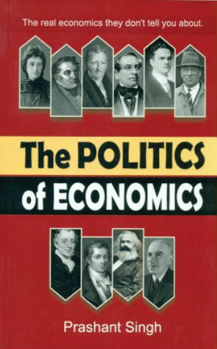 Politics Economics Shri Prashant Singh Book Cover