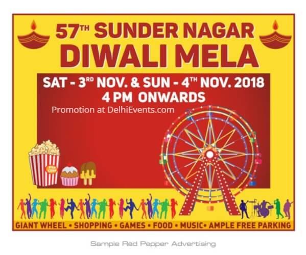 Diwali Mela Park Sunder Nagar Creative