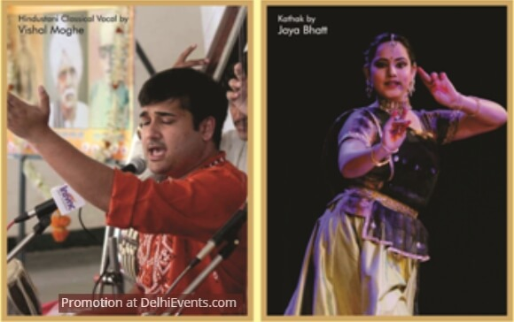 Vocalist Vishal Moghe Kathak Dancer Jaya Bhatt