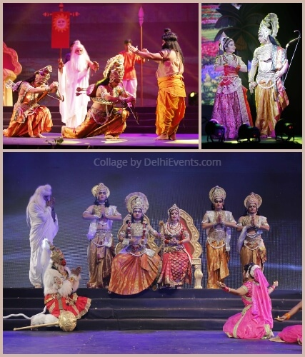 Aryan Heritage Foundation Sampurn Ramayana Play Stills