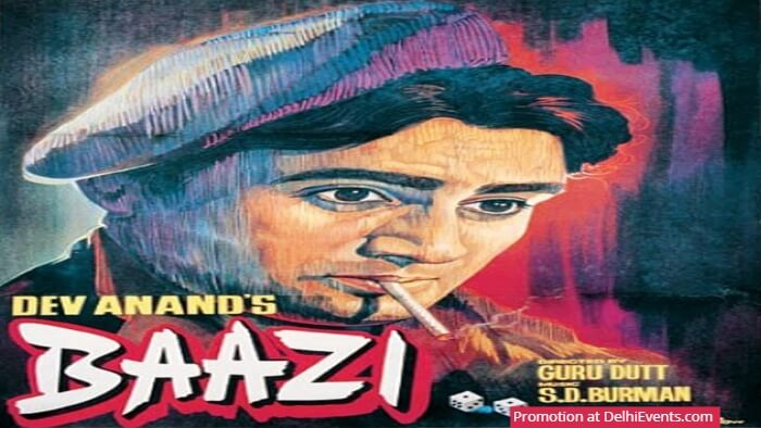 Dev Anand Baazi Poster