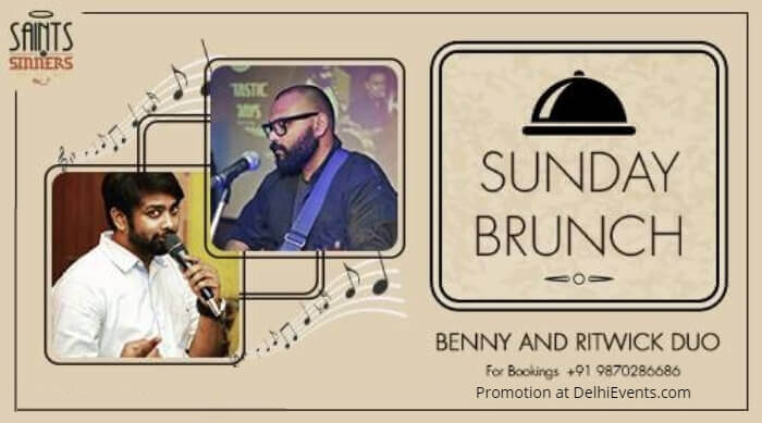 Sunday Brunch Benny Ritwick Duo Saints Sinners Creative