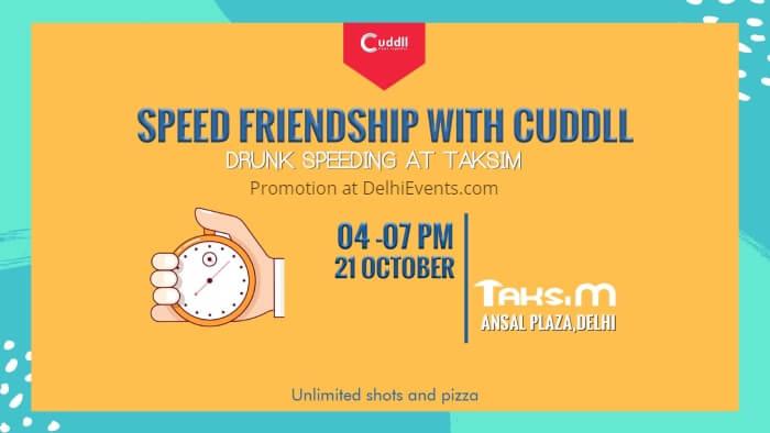 Cuddll Speed friending friendship Taksim Creative