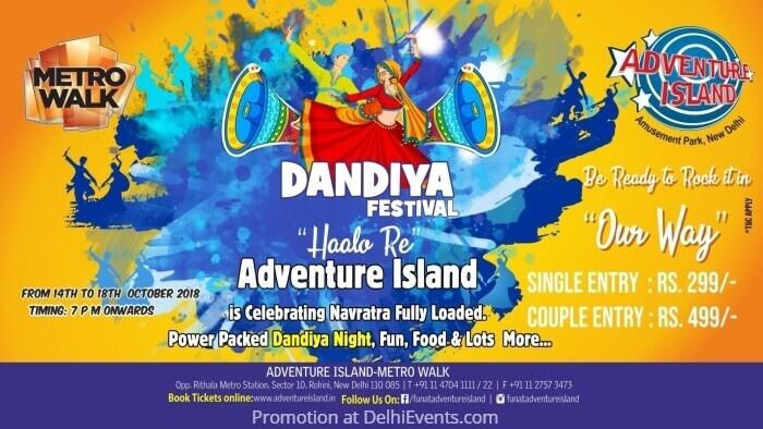 Dandiya Festival Adventure Island Creative