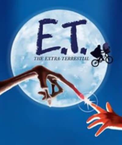 ET Extra Terrestrial Film Poster