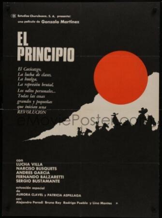 Beginning El principio Spanish Film Poster