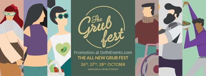 Grub Fest Jawaharlal Nehru Stadium Creative