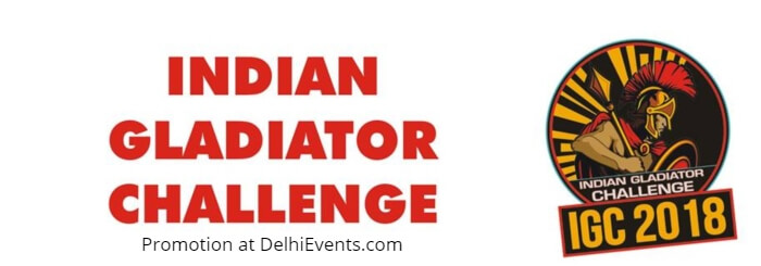 Indian Gladiator Challenge 2018 Creative