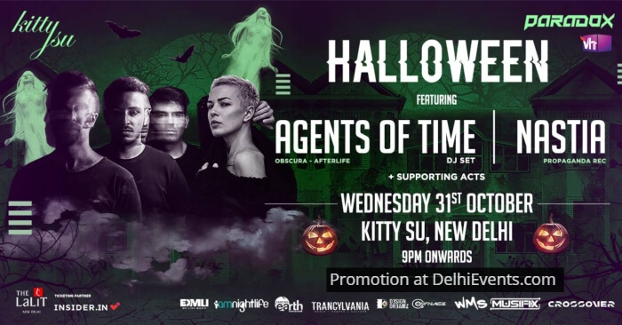 Halloween Agents Time Nastia Kitty Su Creative