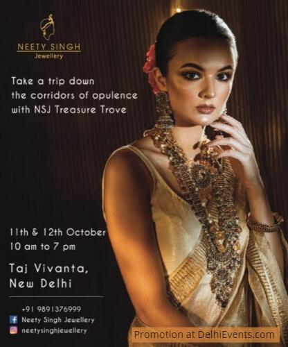 Neety Singh Jewellery Exhibition Vivanta Taj Ambassador Creative