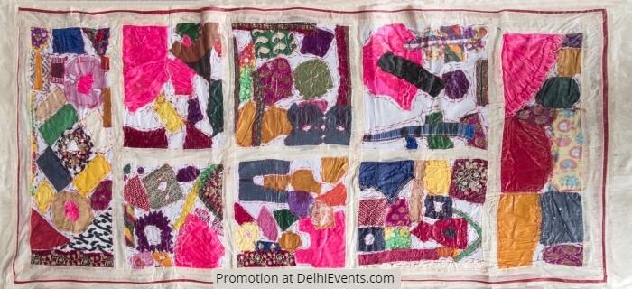 Textile Artwork Nesa Gschwend