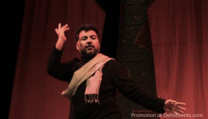 Qissebaazi Dastangoi Play Danish Husain Still