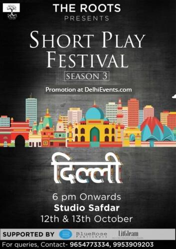 Delhi Excerpt Short Play Festival Roots Studio Safdar Creative