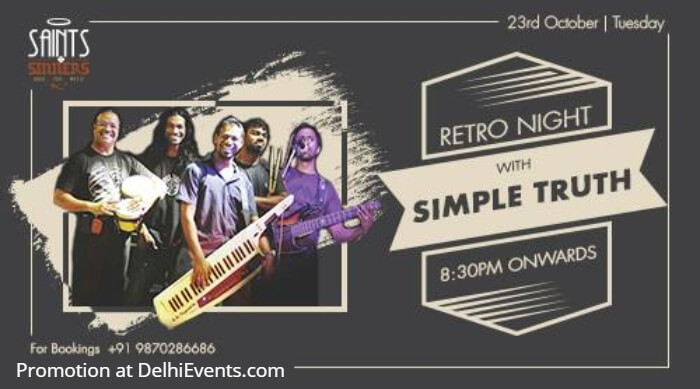 Retro Night Simple Truth Saints Sinners Creative