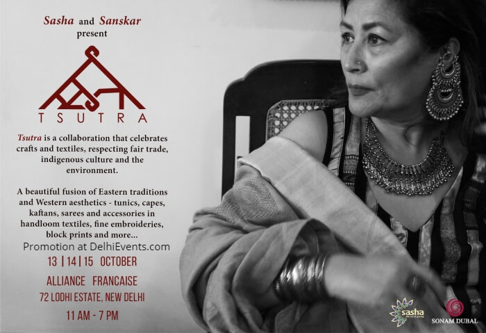 Sasha Sanskar Tsutra 2018 Alliance Francaise Creative