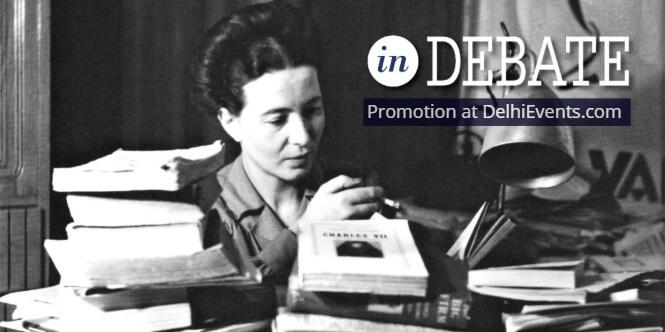 Simone Beauvoir Debate Existentialism Feminism Creative