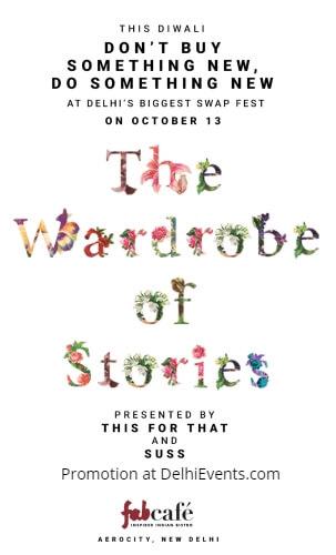 Wardrobe Stories Suss swap fest Aerocity Creative