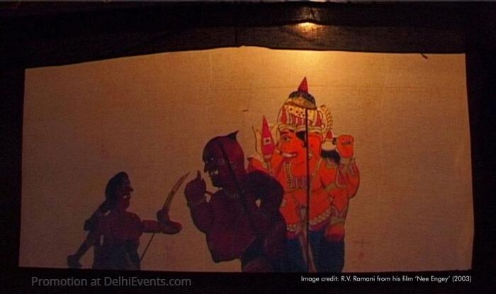 Thol Pavai Koothu Puppet Theatre Tamil Nadu Muthulakshmana Rao Troupe Still