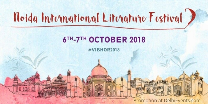 Vibhor Noida International Literature Festival 2018 Creative