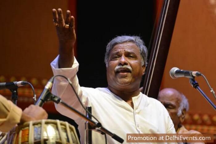 Vocalist Pt Venkatesh Kumar