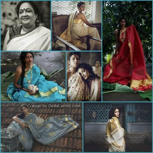 Kasavu sarees Balarampuram ANKA Dastkari Haat Studio Photoshoot