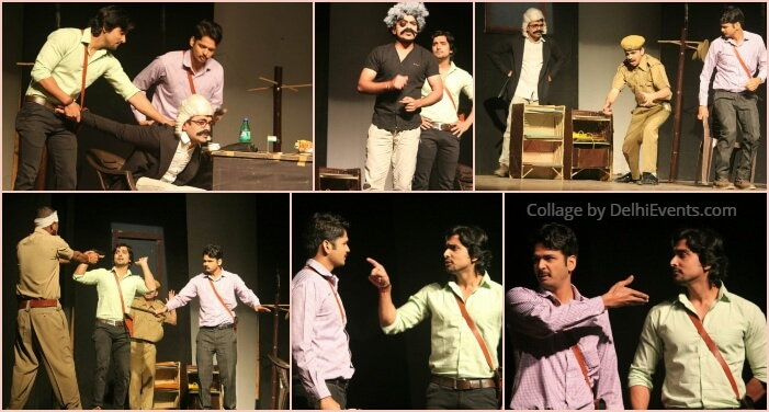Behroopiya Entertainers Dario Fo Accidental Death Anarchist Hindi Comedy Play Stills