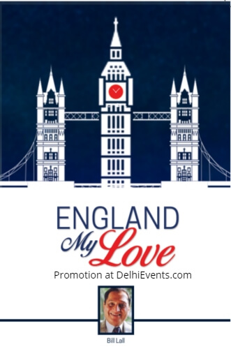 England My Love Book Cover