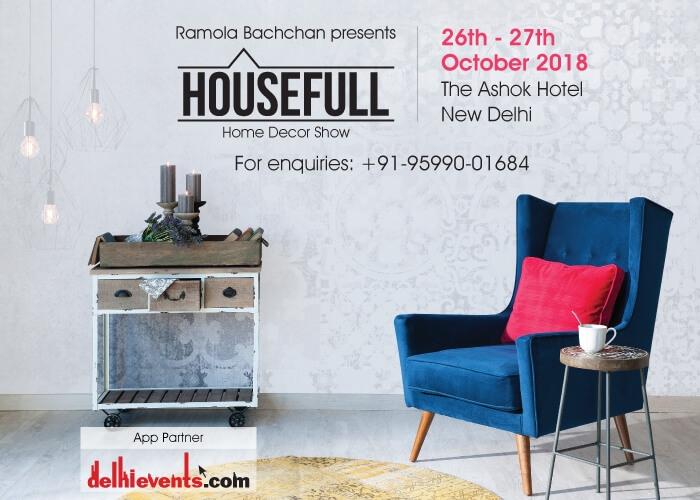 HouseFull Home Decor Show Ramola Bachchan Hotel Ashok Creative