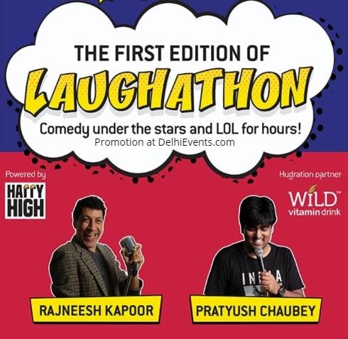 Laughathon Hinglish standup Rajneesh Kapoor Pratyush Chaubey Select Citywalk Creative