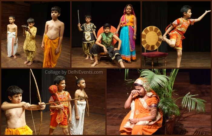 Rama Story Ramayana Intelligent Children English Play Akshara Theatre Stills