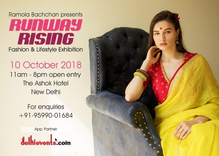 Ramola Bachchan Runway Rising 2018 Ashok Creative