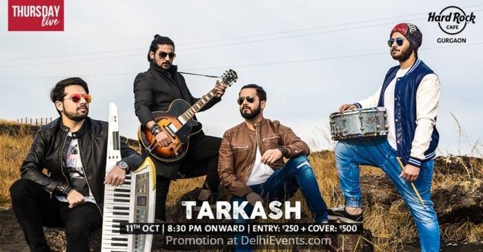 Tarkash Band Hard Rock Cafe Creative