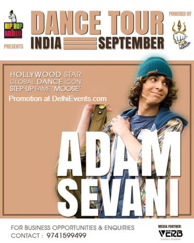 Dance Moose India 2018 Adam Sevani IIT Creative