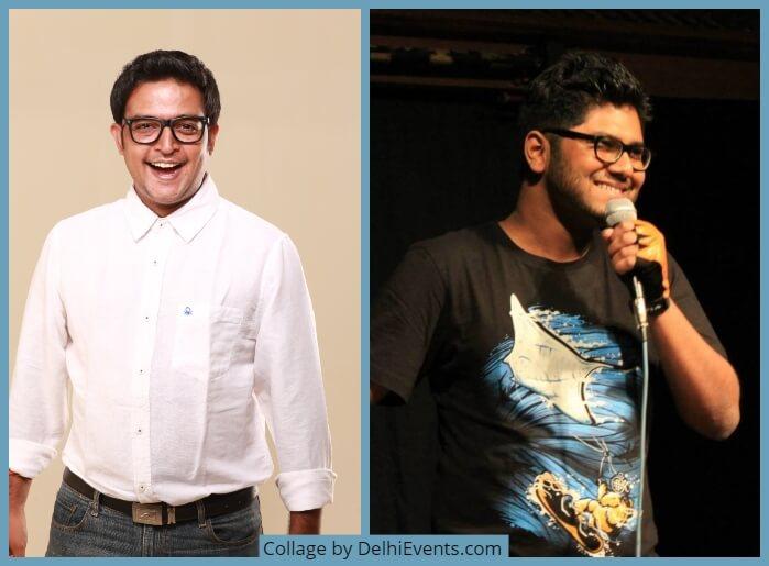 Comedians Rajiv Rajaram Utsav Chakraborty