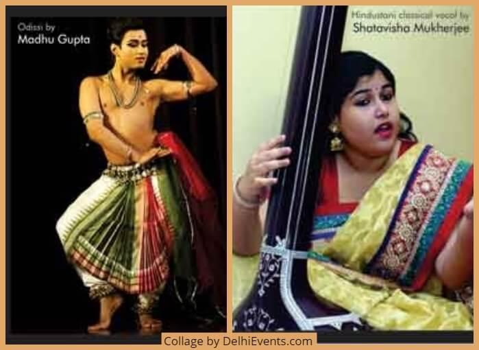 Odissi Dancer Madhur Gupta Vocalist Shatavisha Mukherjee