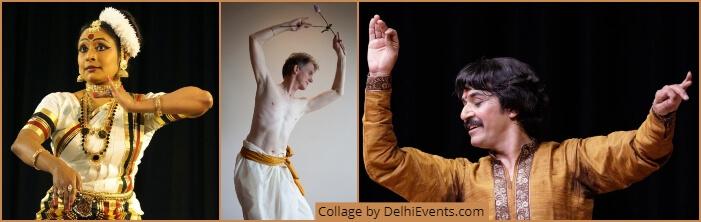 Dancers Jayaprabha Menon Justin McCarthy Rajendra Gangani